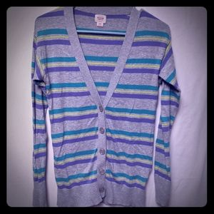 5/$25 Massimo button-up cardigan size xs